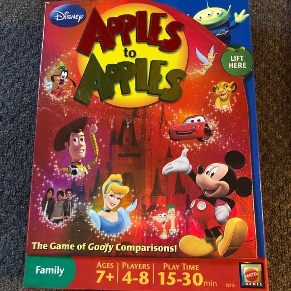 Disney Apples to Apples